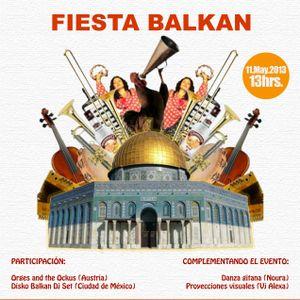 Radio Faro entrevista a DJ. Blacky en la Fiesta Balkan en Faro de Oriente