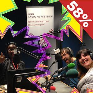 LSC + 58% on BBC Radio Merseyside's Ngunan Adamu Show - 22 May 2016