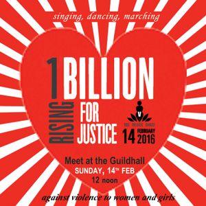 Rebel Arts Radio -   8/2/16 - 1Billion Rising - REVOLUTION !