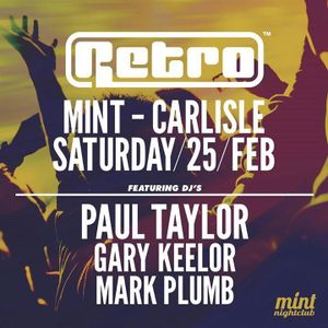 Retro at Mint - Carlisle (25-2-2017) [Set 1]