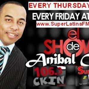 El Show de  ANIBAL CRUZ - 24 de Agosto 2012