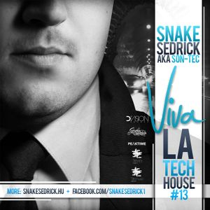 Snake_Sedrick_aka_Son-Tec_-_Viva_La_Tech_House_13_CD