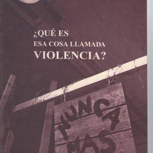 Sobre el concepto de violencia