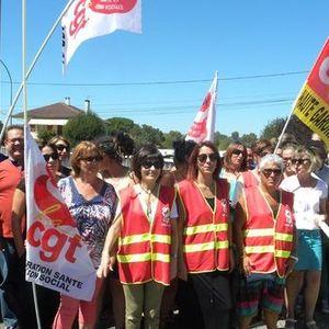 Grève à l'hôpital de Muret