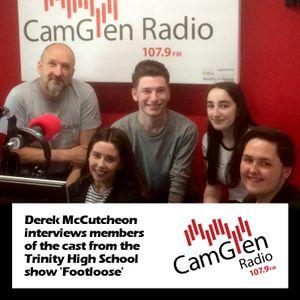 Derek McCutcheon interviews the cast of the Trinity High