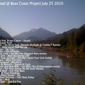 Woodhead @ Bass Coast Project Squamish BC July 25th