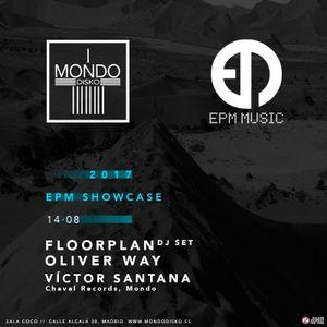 Oliver Way DJ set recorded live @ Mondo, Madrid August 2017