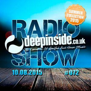DEEPINSIDE RADIO SHOW 072 (Summer Collection 2015)