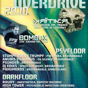 Psychedelic Overdrive 29.10.2016