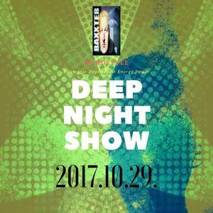 DJ.BAXXTER-DEEP NIGHT SHOW HARDSTYLE 2017.10.29.