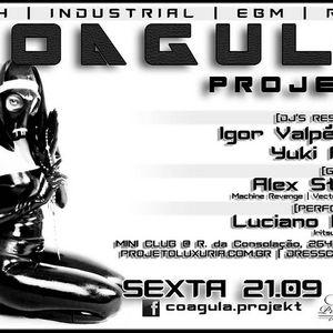 Dj Alex Strunz @ EBM Set Coagula Projekt - Mini Club - 22-10-2012