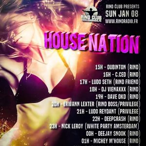 Dj VienaxXx - House Nation évent (rind)  08/01/17