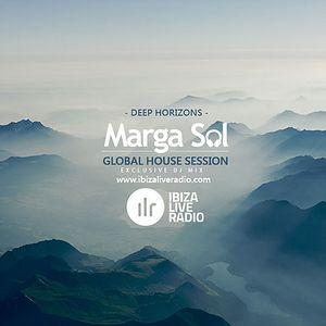 Ibiza Live Radio Dj Mix (Deep Horizons)  - Global House Session with Marga Sol
