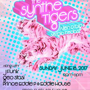 The SyntheTigers Live at Mars Bar 6-18-17 Groovesque