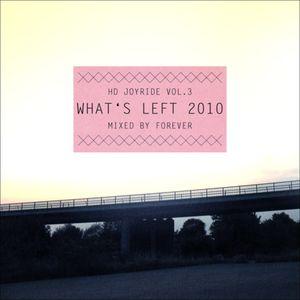 HD Joyride Vol.3 - What's Left 2010