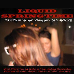 LIQUID SPRINGTIME EMOCZO IN DA MIX DRUM AND BASS MARCH'11