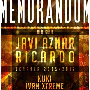 Coliseum Memorandum Old Gold DjRicardo   8-12-2012  Cierre vol1