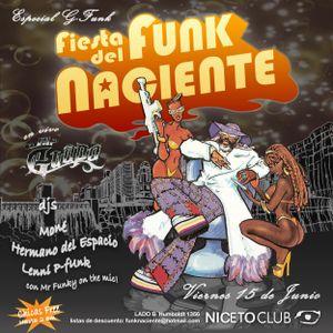 Mr Funky (disco funk) / live set 15-6-2012