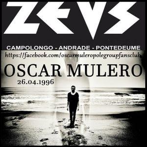 Oscar Mulero - Live @ Sala Zeus, Campolongo, Pontedeume - Galicia (26.04.1996)