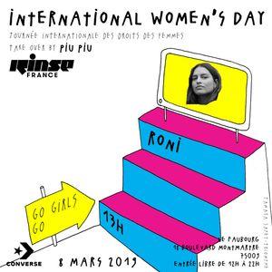Women's Day Take Over : Roni - 08 Mars 2019
