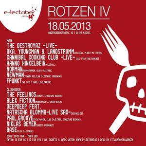 Norman @ Rotzen IV - Club e-lectribe Kassel - 18.05.2013