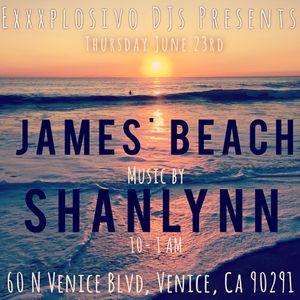 ShanLynn DJ set Live at James Beach, Venice, CA 6/23/2016