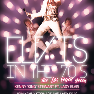 Elvis In The 70's With Kenny Stewart - June 15 2020 www.fantasyradio.stream