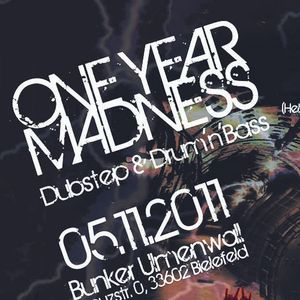 "Jacker - Helter Shelter ""1 Year Madness"" Warm-Up Mix [10/2011]"