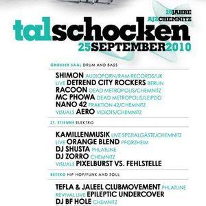 DJ Racoon & MC Phowa live at 20 Years AJZ Chemnitz (2010-09-25)