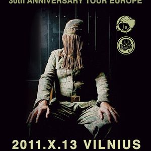 Set for Death in June concert in Vilnius (Oct. 13, 2011)