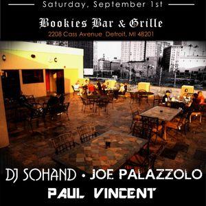 Joe Palazzolo Live Bookies Rooftop Detroit 9-1-2012