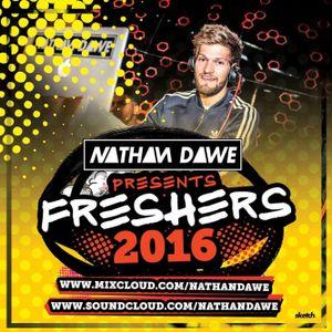 FRESHERS MIX 2016   HIP HOP - URBAN - HOUSE - GRIME   TWEET @NATHANDAWE
