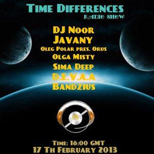 Oleg Polar pres. Orus - Time Differences 065 on TM-Radio (17.02.2013)