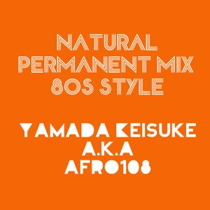Natural Permanent Mix 80's Style