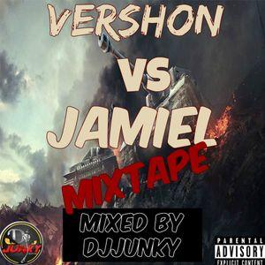 VERSHON VS JAHMIEL MIXTAPE MIXED BY DJJUNKY