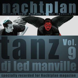 DJ Led Manville - Nachtplan Tanz Vol.9 (2013)