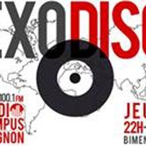 Exodisc - Radio Campus Avignon - 09/01/2014