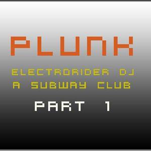 DJ ELECTRORIDER @ Subway Club - Zurich (part 1)