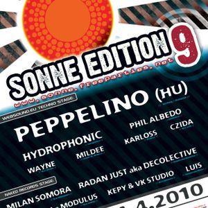 Peppelino - Live at kd burovce topolna Czech republic (2010.04.24.)