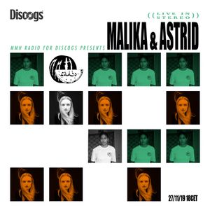 My Discogs Playlist w/Astrid Engberg & Malika // 27.11.19