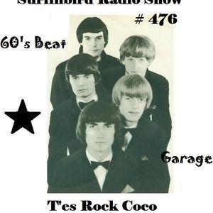 SURFINBIRD RADIO SHOW # 476 T'ES ROCK COCO SPECIAL 60's BEAT