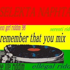 remember that you mix SELEKTA NAPHTA