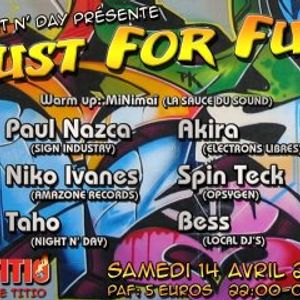 Dj Bess - Just For Fun (first dj set) @ Titio (14.04.12)