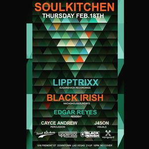 Black Irish @ Soul Kitchen 2/18/16 (opening set) Vanguard Lounge, Las Vegas