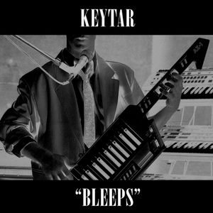 While my keytar gently bleeps