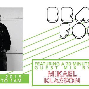 Brain Food With Rob Zile - Live On KissFM - 24 - 09 - 2015 - PART 3 - GUEST MIX - MIKAEL KLASSON