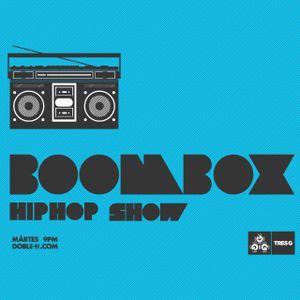 Boombox Hip Hop Show 23 Noviembre 2010