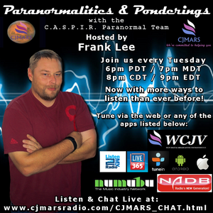Paranormalities & Ponderings Radio Show featuring guest Lyle Sharman!