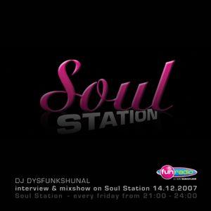 DJ DYSFUNKSHUNAL INTERVIEW & LIVE SET ON FUN RADIO (Dec.14th 2007)