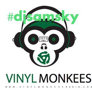 Sam Sky Guest DJ on VinylMonkeesRadio.com Los Angeles 06/25/22017